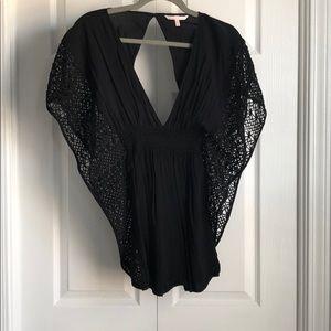 ✨Victoria's Secret Black Cover Up-XS